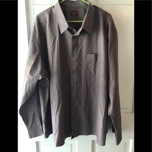 UNTUCKIT gray long sleeve shirt XXXLC MINT